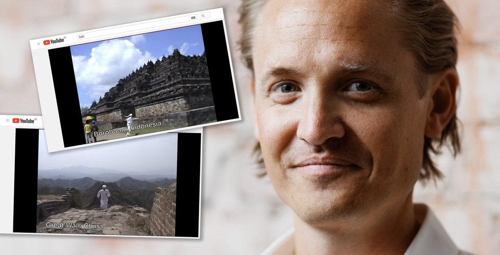 För tio år sedan sprang Klarna-grundaren jorden runt på Youtube – nu är han miljardär