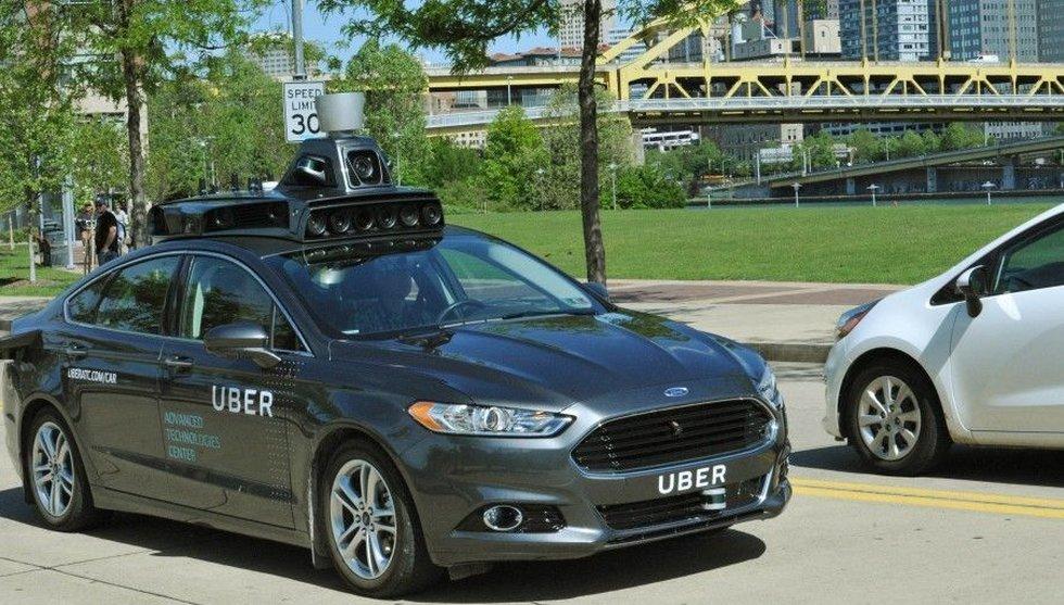 Breakit - Uber utmanar Google – börjar   testköra sina självkörande bilar