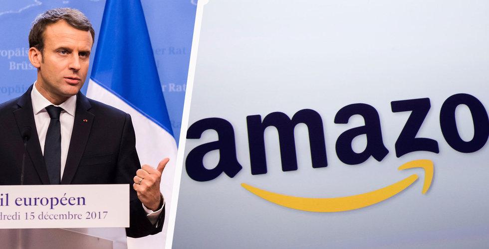 Breakit - Frankrike stämmer Amazon för att ha missbrukat sin dominerande ställning