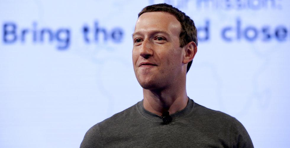 Facebooks aktie faller fritt när USA-börserna öppnar