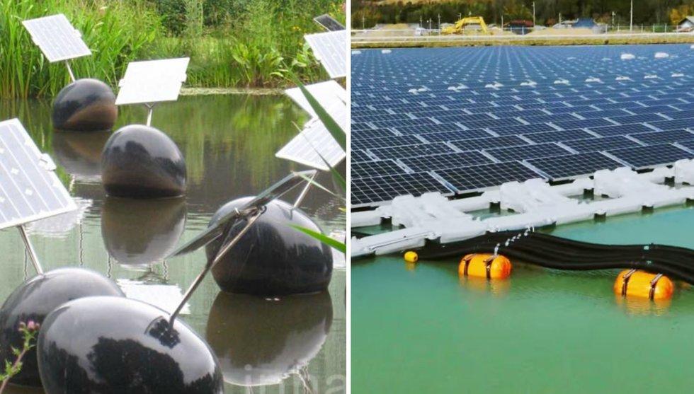 Breakit - Flytande solpaneler är det nya svarta i energitechindustrin