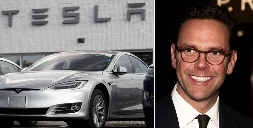 Breakit - James Murdoch kan ta över Tesla – men Musk avvisar uppgifterna