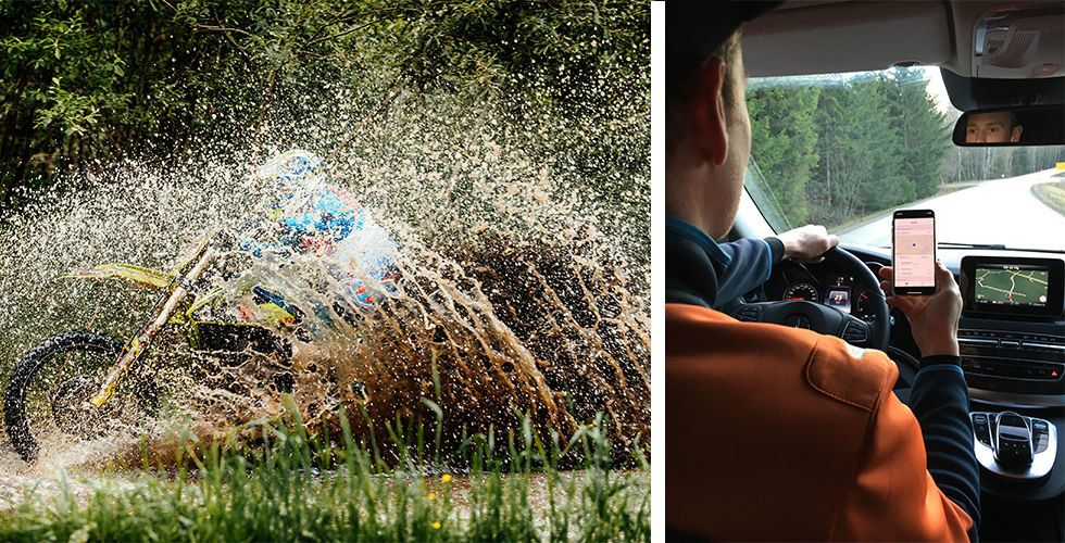 """Breakit - Enduro-stjärnan Joakim Ljunggren: """"Jag får koll på den värdefulla lasten i bilen"""""""
