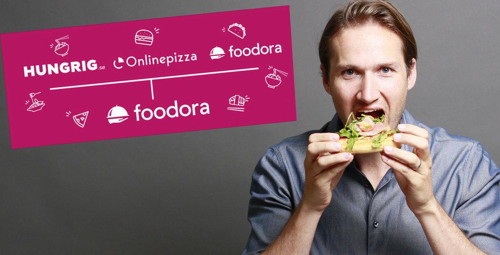 Onlinepizza och Hungrig skrotas – nu blir allt Foodora