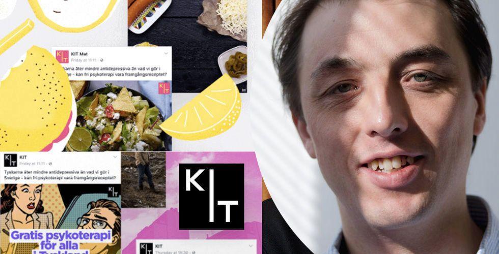 Så går Bonniers mediestartup – Kit dubblar omsättningen