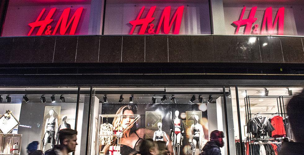 Svart på vitt: Så stor blev notan för H&M:s logistiktrubbel