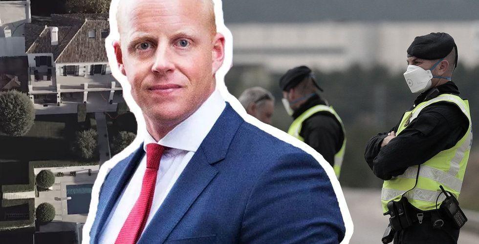 "Polisen stoppade Henrik Persson Ekdahls barnkalas: ""Ingen normal situation"""