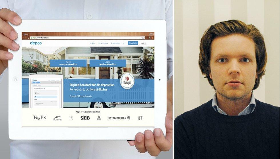 Breakit - Digitalt bankfack tar in riskkapital - ska stoppa bostadsbedragare