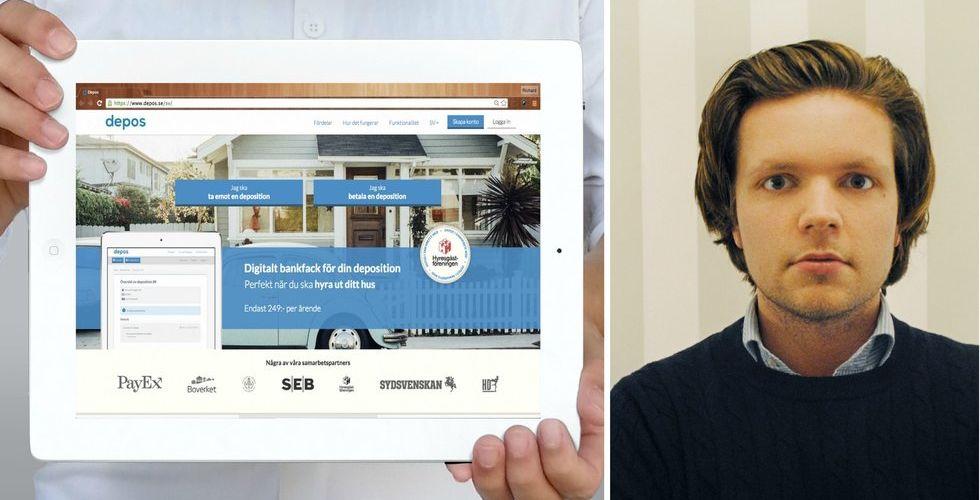 Digitalt bankfack tar in riskkapital - ska stoppa bostadsbedragare