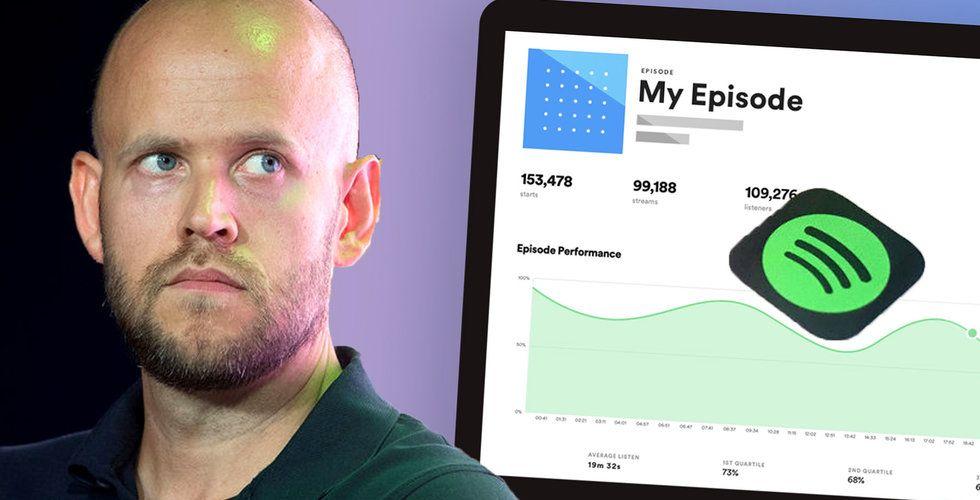 Spotifys nya drag i poddkriget – släpper Spotify for Podcasters