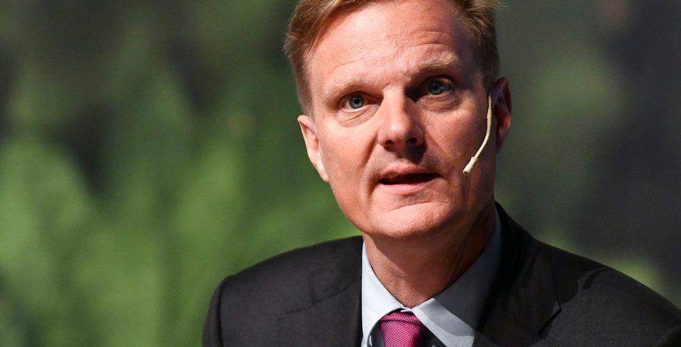 """Swedbank-chefens passning till bolåneutmanarna: """"Inte någon liten internetfirma som sitter i ett garage"""""""