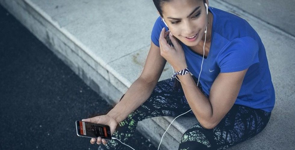Spotify drar igång samarbete med Nikes löparapp