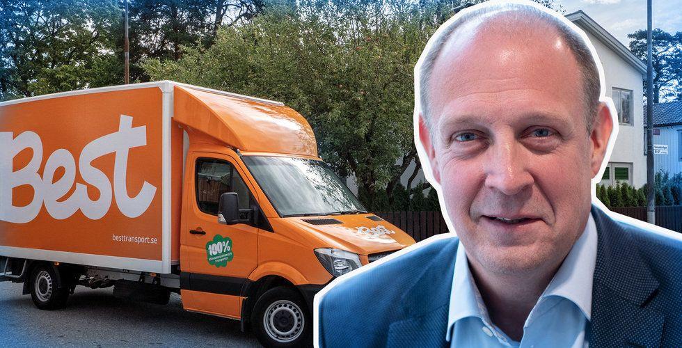 Best Transport i miljardaffär – Kamprads riskkapitalbolag ny storägare