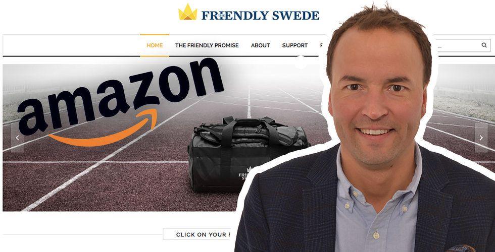 """The Friendly Swede täljer guld på Amazon – """"Det är nyckeln"""""""