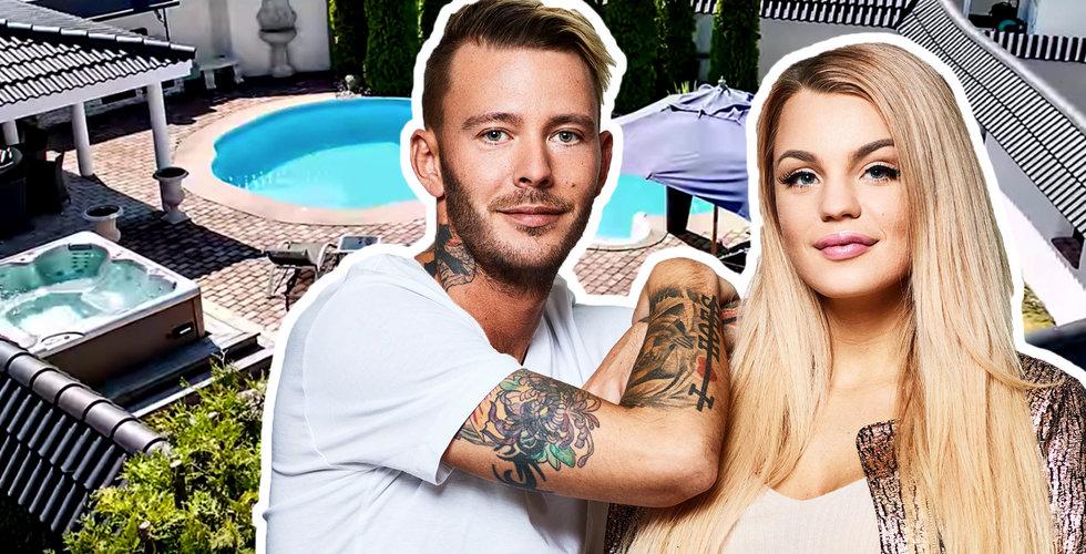 Jocke & Jonna köpte drömvillan på bolaget – hyr ut den till sig själva