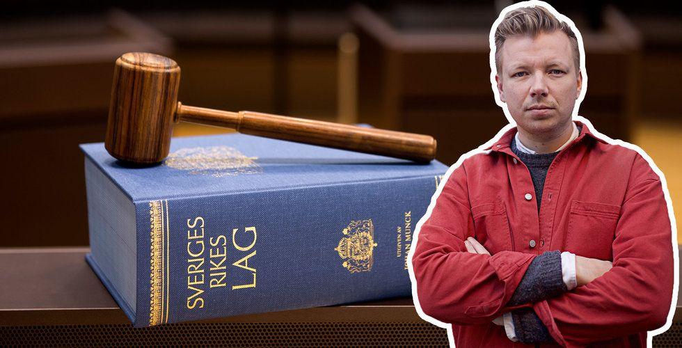 Fälldes efter att ha delat Joakim Lamottes status – tvingas till dryga böter