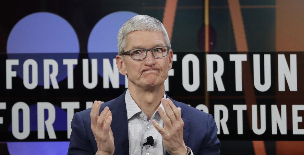 Apples självkörande bil i olycka (men skyll inte på den)