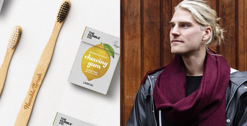 Breakit - The Humble kränger tandborstar som är bra för miljön – nu har försäljningen exploderat