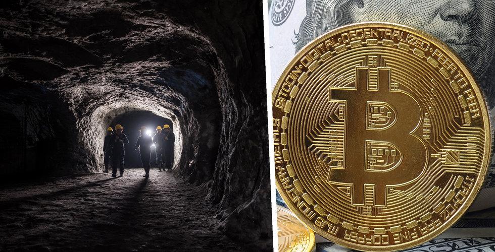 Bitcoin-mining flyttas från Kina till Nordamerika