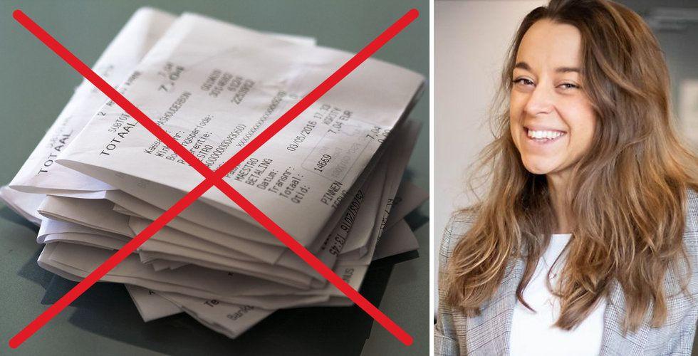 """De hjälper dig att digitalisera kvitton: """"Vårt sätt att göra gott"""""""