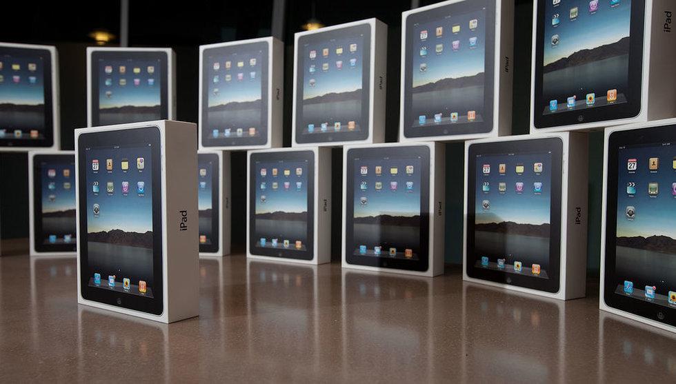 Breakit - Bakslag för Apple och Samsungs paddor under första kvartalet
