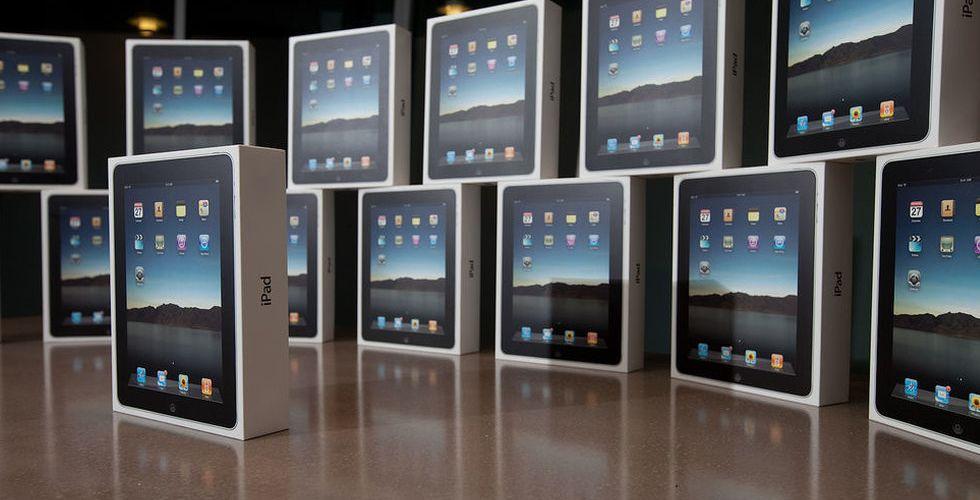 Bakslag för Apple och Samsungs paddor under första kvartalet