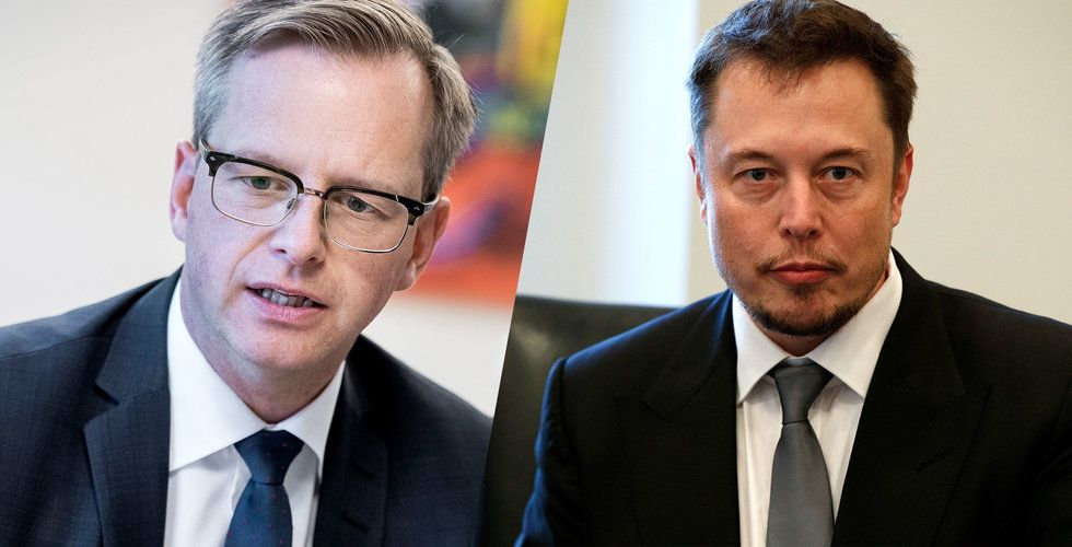 Damberg hoppas på Musk – ger sitt stöd till svensk batterifabrik
