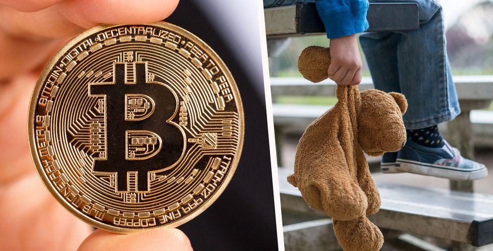 Barnporr hittad i bitcoin – kan göra hela blockkedjan olaglig