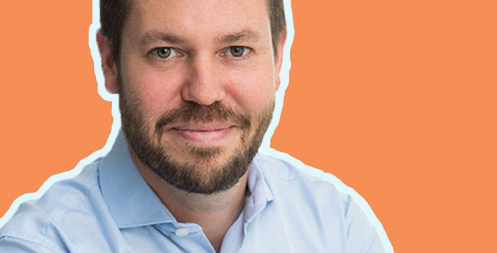 Foto på David Forsberg, grundare och vd på Bright Energy.