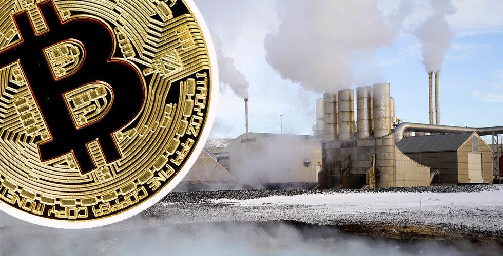 """Energiförbrukningen från kryptovalutor på Island ökar: """"Kommer inte att ha energi kvar"""""""