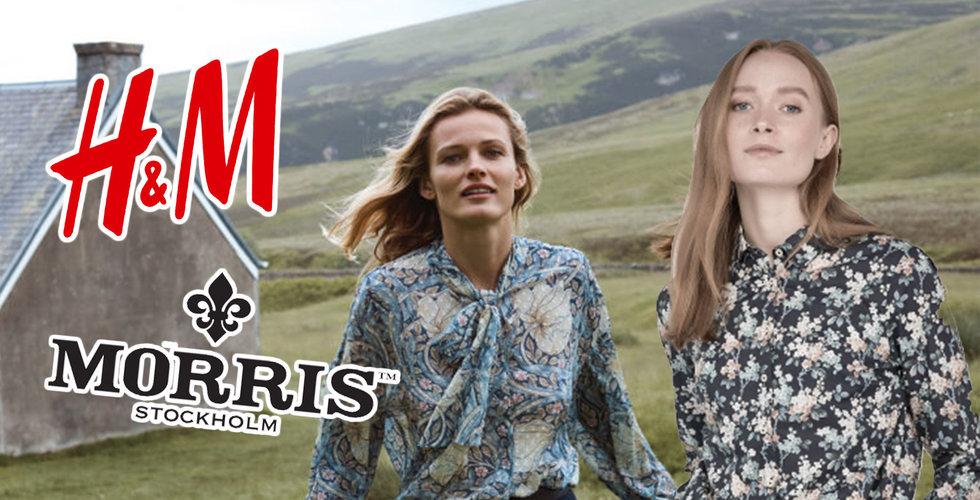 Morris stämde H&M på 10 miljoner – förlikas med modejätten