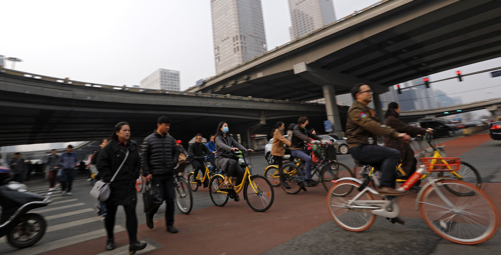 Breakit - Peking förbjuder fler cyklar från delningstjänster
