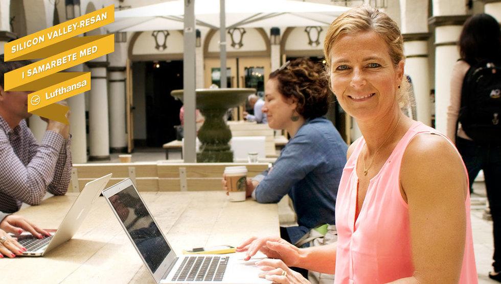 Yvonne Ericsson tar kungligheter och storföretag på techturism