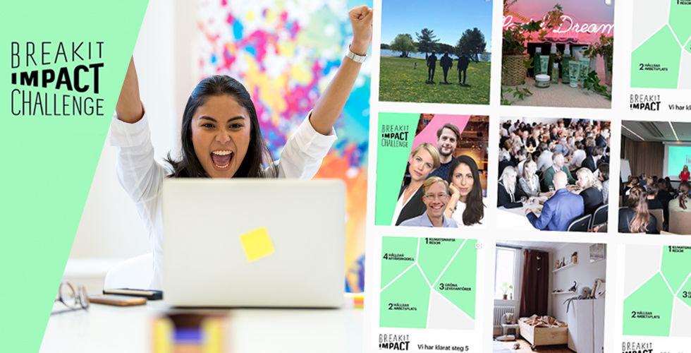 Så gick Breakit Impact Challenge – hundratals bolag klimatbantade på 30 dagar