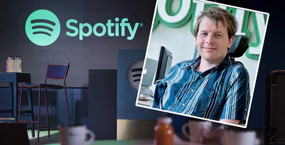 Därför säljer Ludvig Strigeus Spotify-aktier för 1,5 miljarder – till sig själv