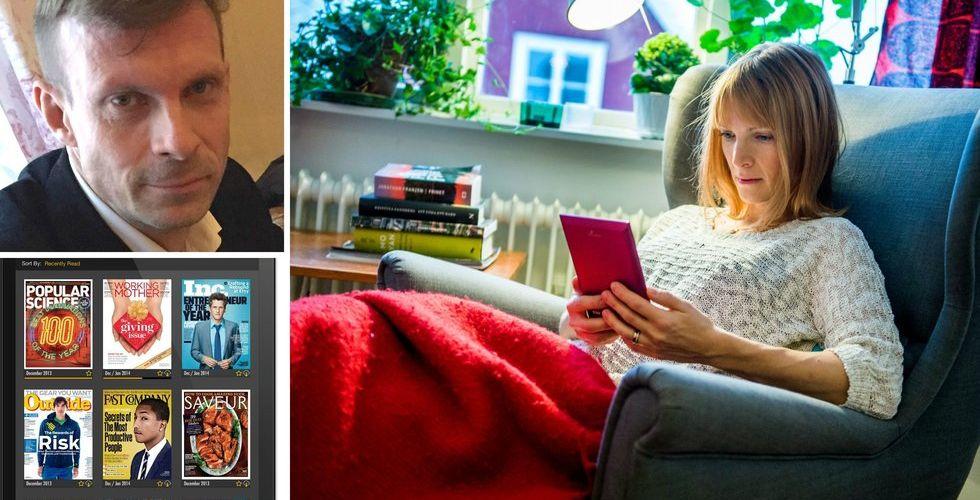Nu lanserar den indiska Readly-rivalen i Sverige på bred front