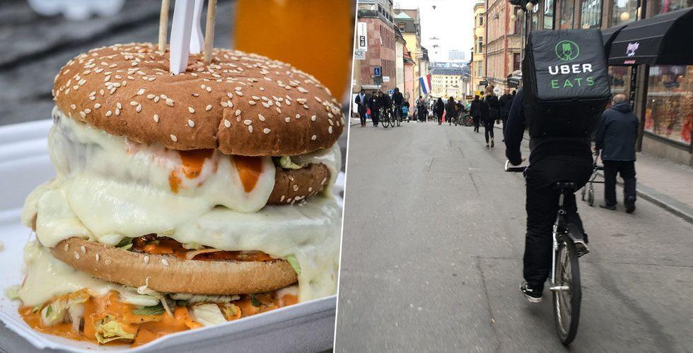 Bekräftat: Nu inleder Uber sitt matkrig på Stockholms gator
