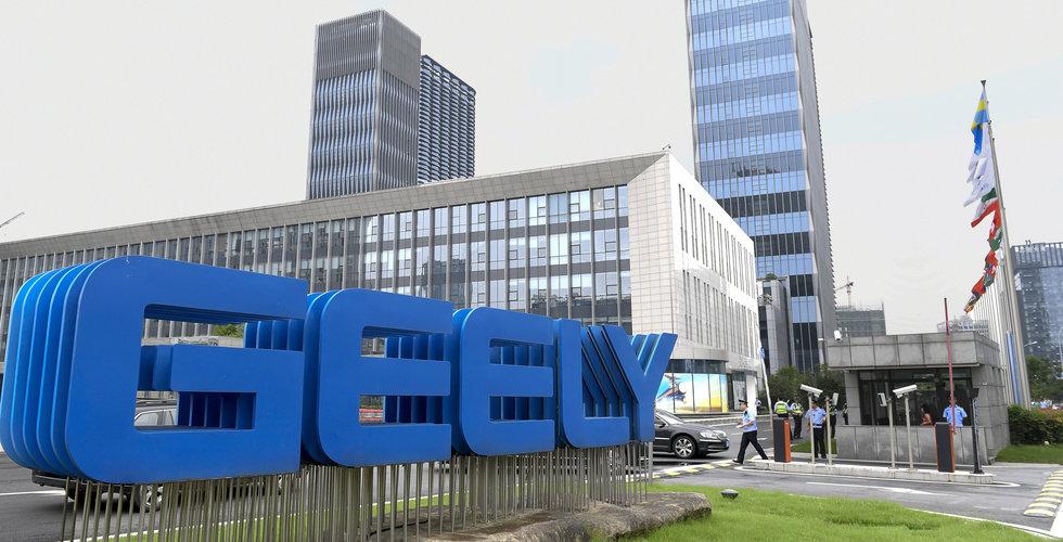 Geely investerar över 40 miljarder kronor i fabrikskomplex för elfordon