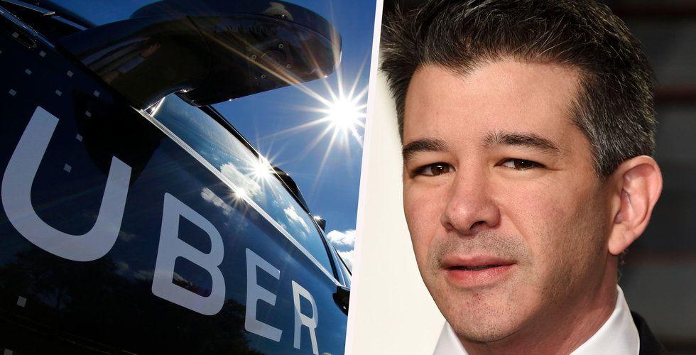 Uber-grundaren Travis Kalanick säljer en tredjedel av sitt innehav i taxi-appen