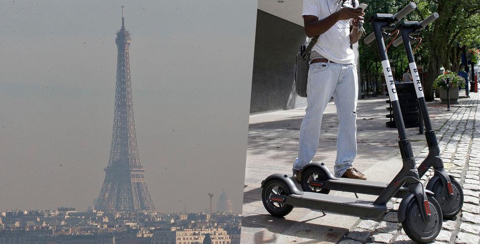 Bird gör som Lime – tar elscootern till Europa och lanserar i Paris