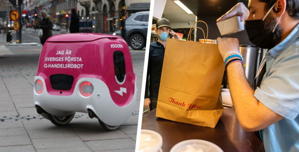 Här är Doora – Foodoras nya robot som ska köra ut mat till dig
