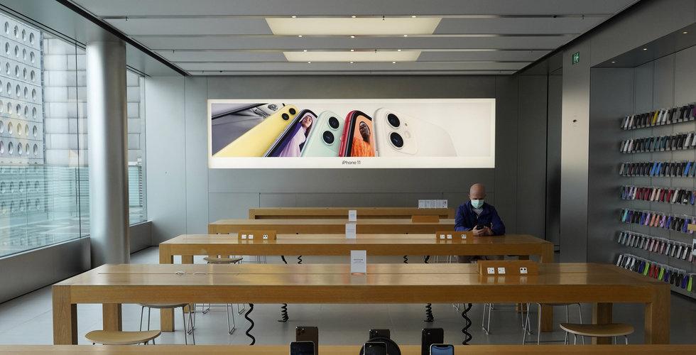 Apple börjar återöppna butiker – tar tempen på kunderna