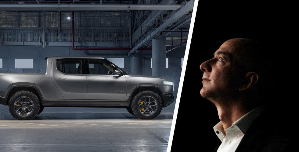 Bezos blickar mot elbilar – intresserad av utmanare till Tesla
