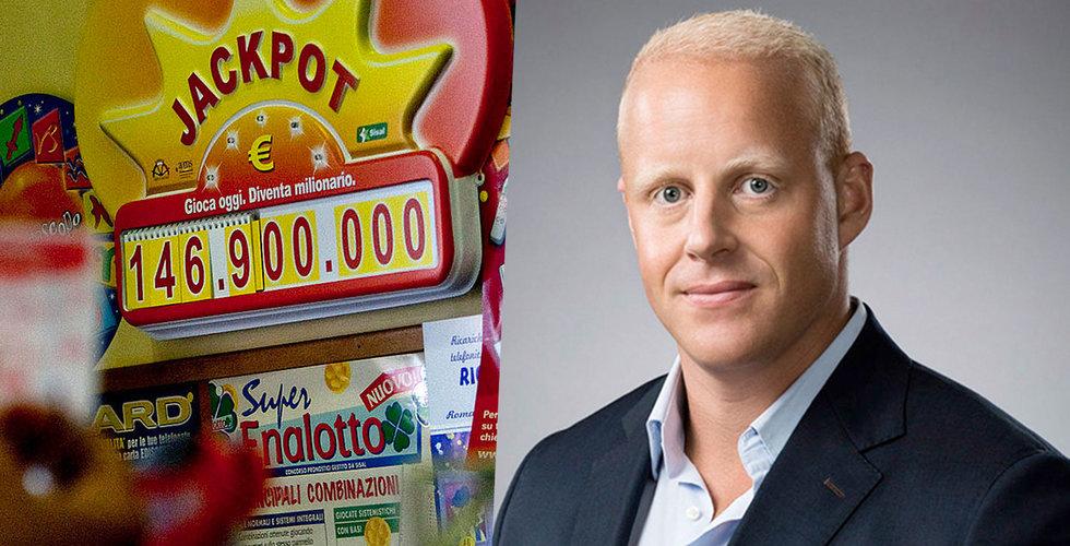 Henrik Persson Ekdahl drar igång lotteri-sajten Megalotto.com
