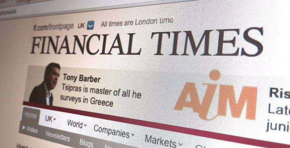 Mediejätten Financial Times säljs till Nikkei för 11 miljarder kronor
