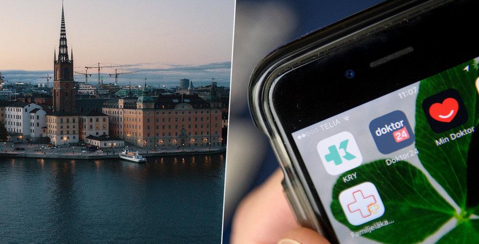 Stockholmarna vallfärdar till nätläkare – nu slår Region Stockholm tillbaka