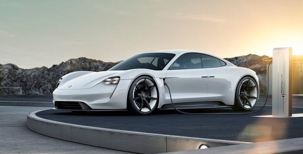 30.000 i kö för att köpa Porsches nya elbil Taycan