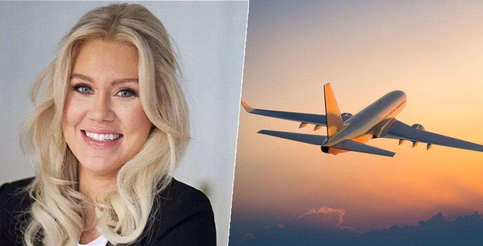 """Isabella Löwengrip ska få fler att flyga privatjet – """"Miljöfrågan inte speciellt global"""""""