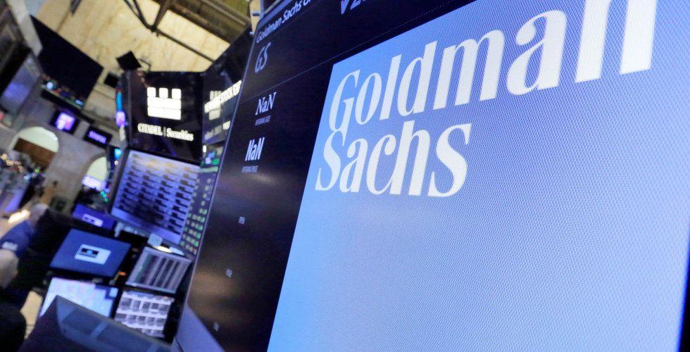 Breakit - Goldman Sachs investerar över en miljard i fintech-startup