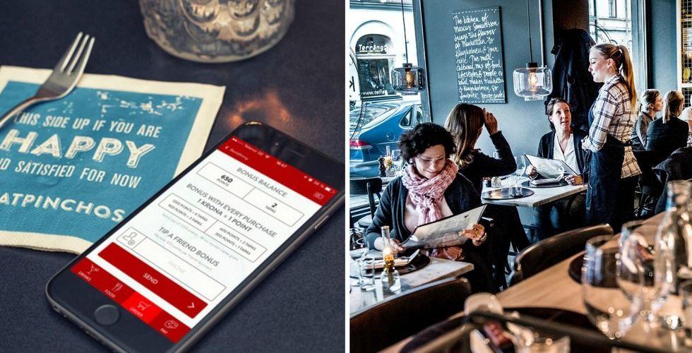 Breakit - Appar som ersätter servitriser - är det framtiden på krogen?